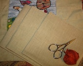 One Yard of Primitive Premium Quality  Weavers Cloth for Needle Punch Punchneedle by Prairie Moon Primitives
