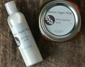 SUGAR DUO Sugaring Paste and After Sugar Serum Together