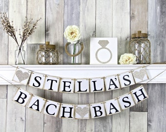 Bach Bash, Bachelorette Party, Bachelorette Banner, Bachelorette Decor, Bachelorette Ideas, Glitter Bachelorette, Sparkly Bachelorette