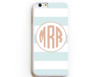 iPhone 6 Case. iPhone 6 Cases. Subtle Stripe Monogram. Phone Case. iPhone Case. Phone Cases. Case for iPhone 6.