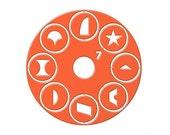 Orange Lcdisk #7 in stock