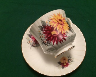 Royal Stafford collectible china tea cup and saucer.