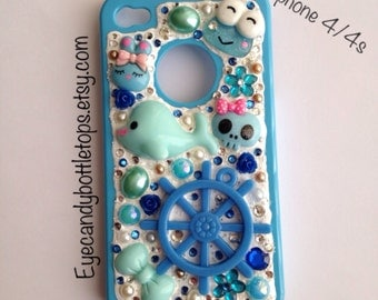 Blue Decoden iPhone Case 4/4s