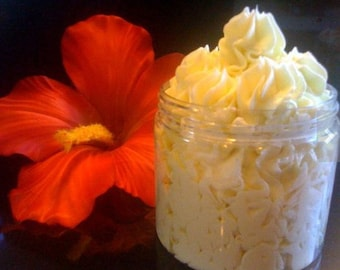 Whippy Body Butter Super Size Ultra Premium whipped fluffy SPA lotion with Skin Nourishing Pumpkin Seed Kukui Nut SPA oils Pura Gioia