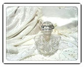 Miniature Perfume Bottle -Vintage Lead Crystal Perfume Bottle   PF1931a-032313000
