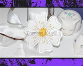 Free Standing Felt Flowers for the  4x4inch/ 100 X 100 Embroidery Hoop - Machine Embroidery Design