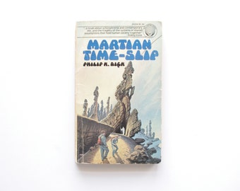 Martian Time Slip - Philip K Dick - Vintage Paperback