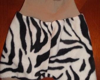 Cute whimsical newborn fleece trousers