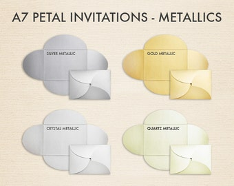 Pochette Envelopes (5 x 7) - Pick a Color - Quantity of 10