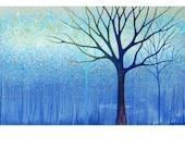 Art Note Card Titled Rain Tree from an original Painting by Jennifer Barrineau