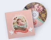 CD Dvd Case and CD DVD Label Template for Photographers - Cdvds104