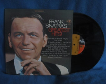 "Vintage, Frank Sinatra - ""Greatest Hits"", Vinyl LP, Record Album, Rat Pack, 1967 Original Press, It Was A Very Good Year, That's Life. - il_340x270.662505745_a42d"
