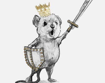 Brave Mouse King