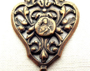 Bronze St. Therese of Lisieux, Saint Therese of the Little Flower, Rosary Centerpiece Center VP7711