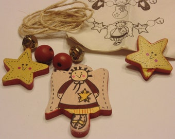 make your own little garland kit, (A11)