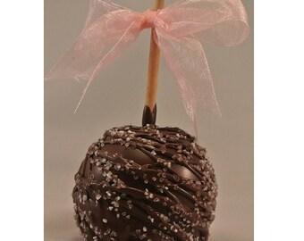 Dark Chocolate Seasalt Caramel Gourmet Apples