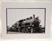 photo card, Oregon Scenic Railroad, Train