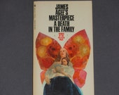 James Agee - A Death in the Family - Fiction Book - Bantam Books First Edition Fifth Printing 1969 - Vintage Paperback Novel