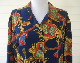 Swanky ladies blouse - medium to large