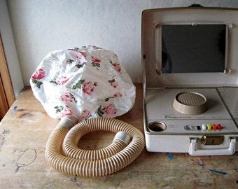Vintage Dominion Portable Hair Dryer, Hair Salon, Beauty Supply, Beauty Appliance, Hair Care