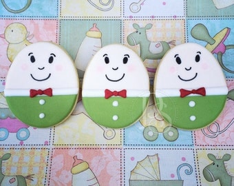Humpty Dumpty Decorated Cookies