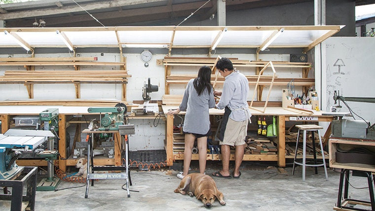 L'atelier de Mink en Thailande
