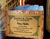 Frau Holle Soap: Winter Soap, Elderberry, Evergreen, Snow.