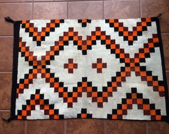 "Sale - Handmade Navajo Rug Weaving 48"" x 32"""