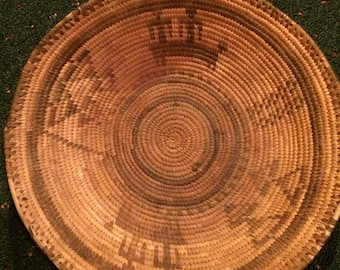 Sale - Antique Authentic Large Navajo Wedding Basket