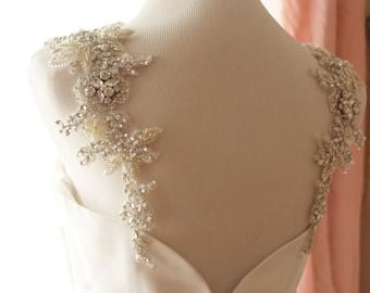 Bridal Straps. Statement Straps. Rhinestone Dress Straps. Statement Dress Straps. Bridal Statement Straps. Wedding Accessory