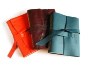 Customize Your Lined Journal - Choose your Leather & Thread colours