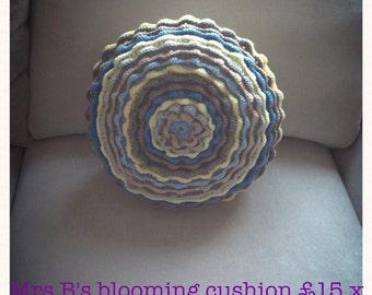 Mrs B's flower cushion