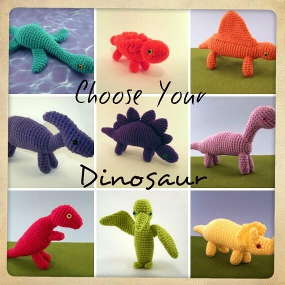 One Crochet Dinosaur Made To Order