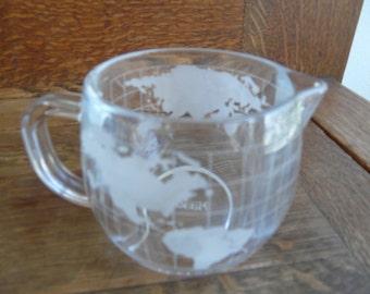 Nestle, Nescafe cream pitcher, globe,
