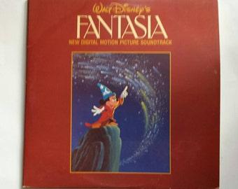 Vintage Walt Disney's Fantasia Digital Motion Picture Soundtrack