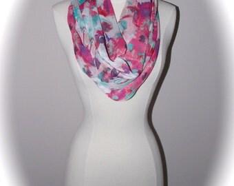 spring floral scarf