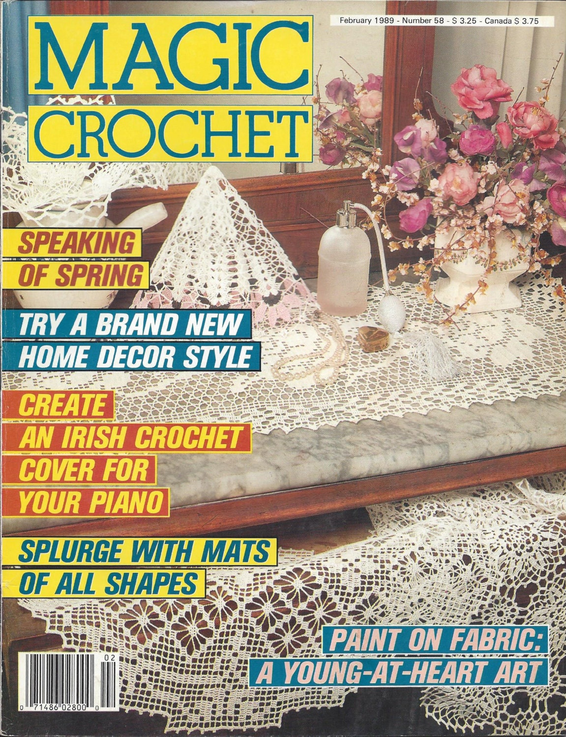 Magic Crochet Magazine, Issue Number 19, How To and Pattern Magazine