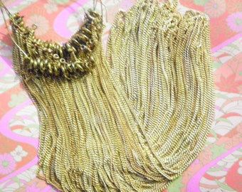 "12 Brass 18"" Chains"