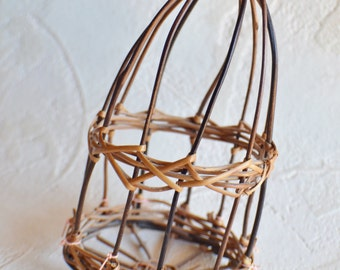 Small Birdcage Basket for Arts and Craft Projects