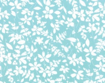 Mixologie Ice by Studio M for Moda Fabrics 32981 20 Teal Blue Turquoise White
