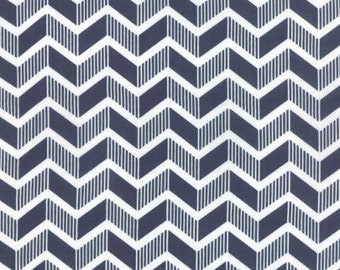 Mixologie Blueberry by Studio M for Moda Fabrics 32982 20 Navy Blue white