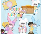 2015 Breakfast With The Easter Bunny  Clip art  Clipart Graphics  Commercial Use