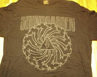 Soundgarden Badmotorfinger Tour TShirt 1992 DeadStock, Soundgarden tshirt vintage metal tour shirt Soundgarden tour Motorvision Lollapalooza