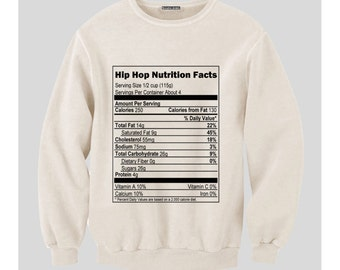 Hip Hop Nutrition Sweatshirt