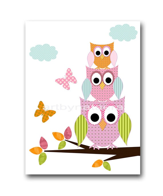pink and orange baby room decor owl decor owl nursery baby