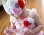 Valentine Cake Smash Outfit, Baby Girl Valentines Outfit, Girls Valentines Day Outfits, Newborn Girl Valentine Day Outfits, Valentines