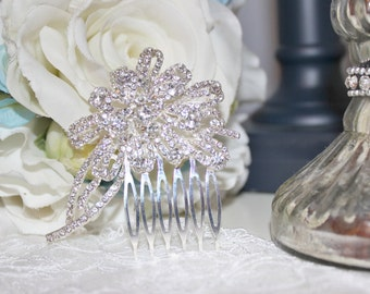 New Rhinestone Bridal Comb Hair Piece