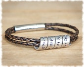 Gift Best Friend • Long Distance Friendship • Women's Personalized Bracelet