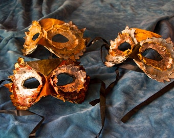 Owl Mask  made to order Paper Mache