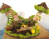 Enchanting ....Wonderful Fairy Village....Fantasy.....OOAK